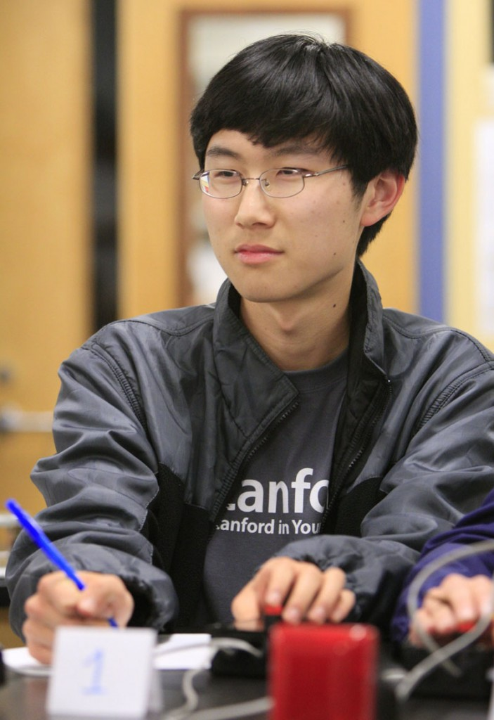 Ryan Gao was one of five Falmouth High School seniors who traveled to Washington, D.C., to compete in the National Science Bowl last Sunday. On Tuesday he was one of 10 students to receive a $100,000 Proton Energy Scholarship.