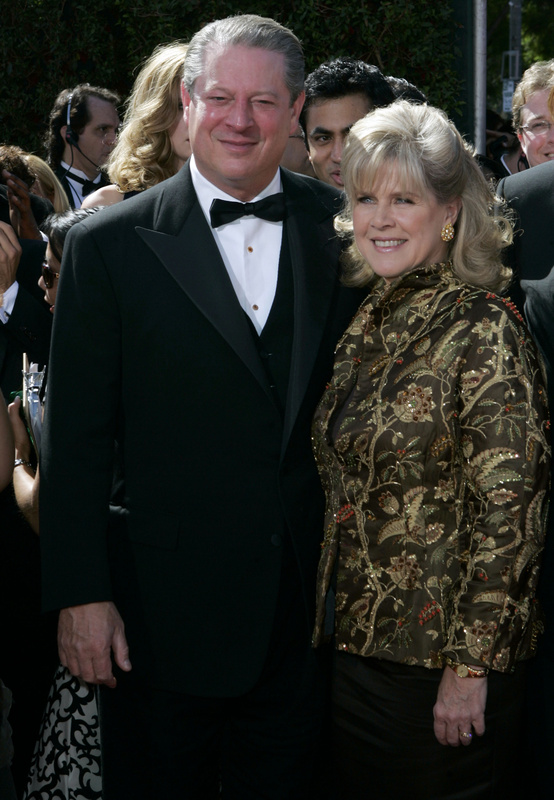 """Former Vice President Al Gore and his wife, Tipper, shown in 2007, are separating after 40 years of marriage.They're saying they """"grew apart."""""""