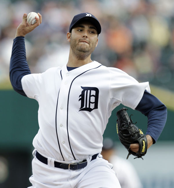 Detroit Tigers pitcher Armando Galarraga was vying for the third perfect game in the majors this year, including Roy Halladay's gem last Saturday night.