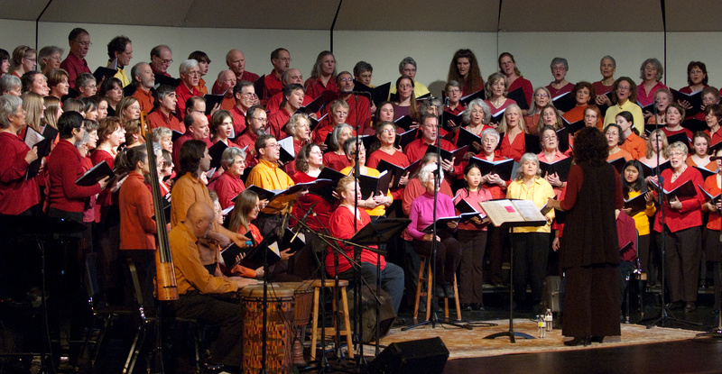 The Midcoast Community Chorus will perform at the Strom Auditorium in Rockport on Saturday. Concert proceeds will benefit the Five Town Communities That Care program.