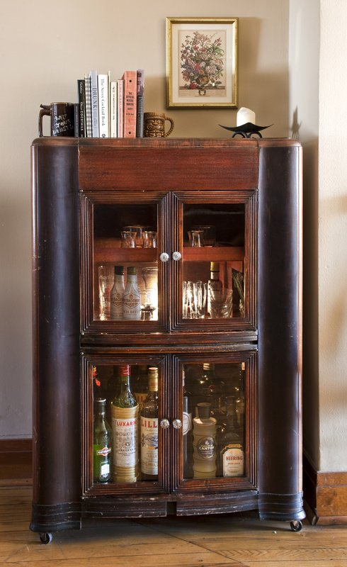 ... your kitchen cupboard space, it's time to find a nice liquor cabinet
