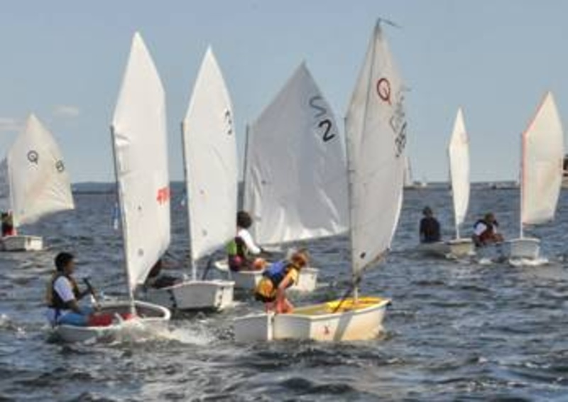 Classes like this one begin this week in Rockland Harbor with Rockland Community Sailing at the Apprenticeshop.
