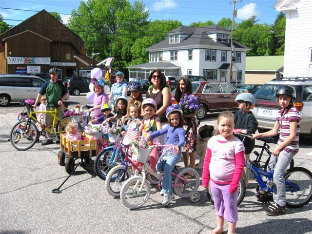 The 2009 Kezar Falls Lilac Festival Bike and Doll Carriage Parade gets started. This year's event will be held Saturday.