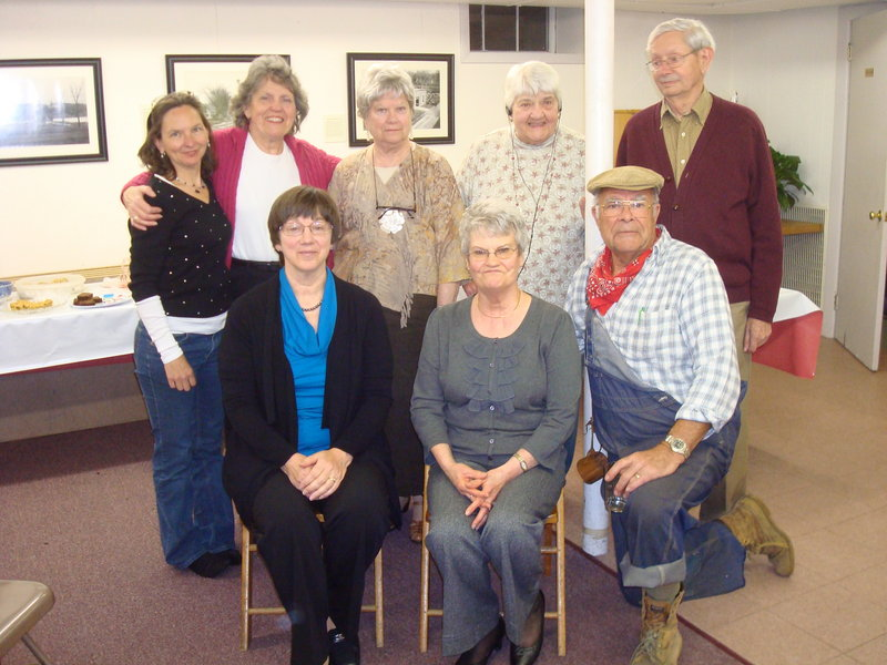"The North Gorham Writers' Group raised more than $500 for the North Gorham Library through the sale of a collection of short stories, ""Come Sit By Me: Stories for Children,"" that the group wrote and self-published this past winter."