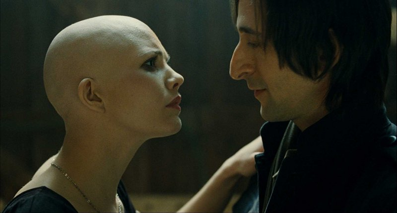 Delphine Chaneac and Adrien Brody in