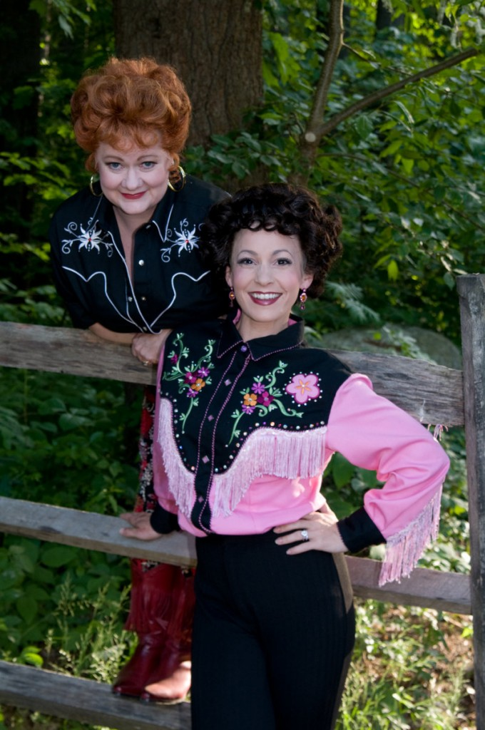 """Charis Leos is Louise and newcomer Jenny Lee Stern is in the title role in """"Always ... Patsy Cline."""""""