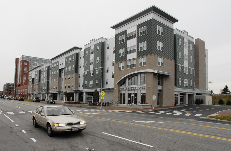 The privately run Bayside Village complex at 132 Marginal Way opened in the fall of 2008 and was billed as an innovative option for college students in Greater Portland.