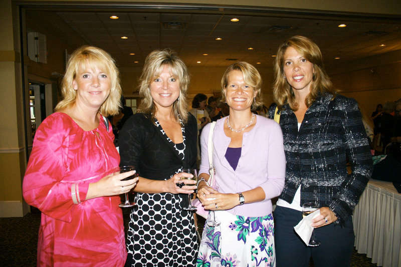 Mori LeFevre of Cumberland, Lisa Chapman of Scarborough, Erin Whipple of Yarmouth and Christine Mullen of Freeport