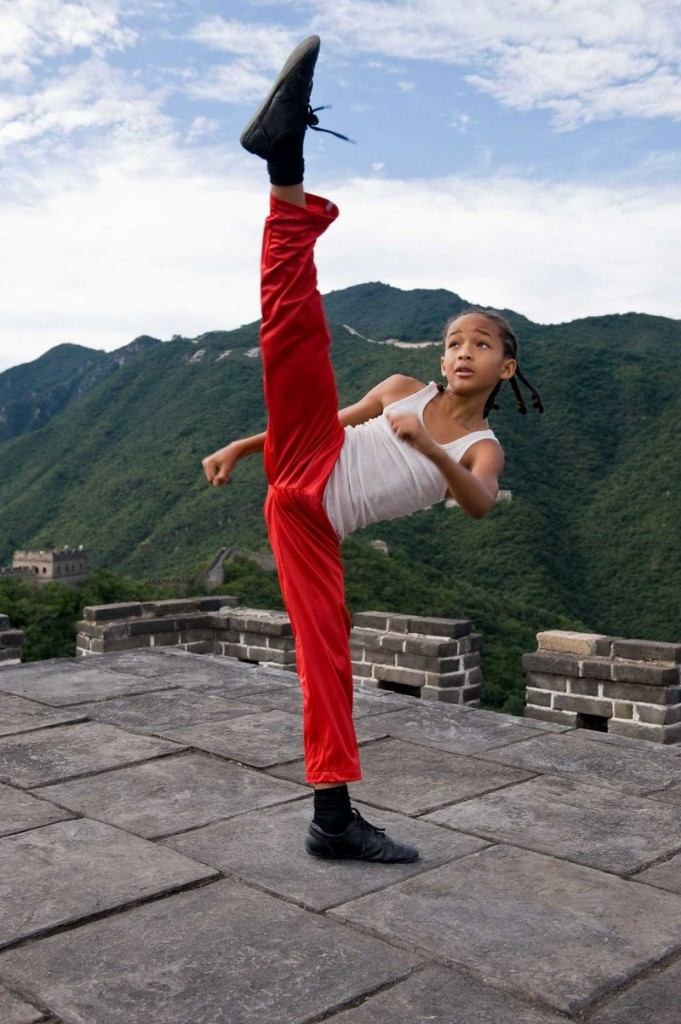 """Jaden Smith is Dre, a boy who finds himself bewildered and bullied in Beijing in the remake of """"The Karate Kid,"""" also starring Jackie Chan."""