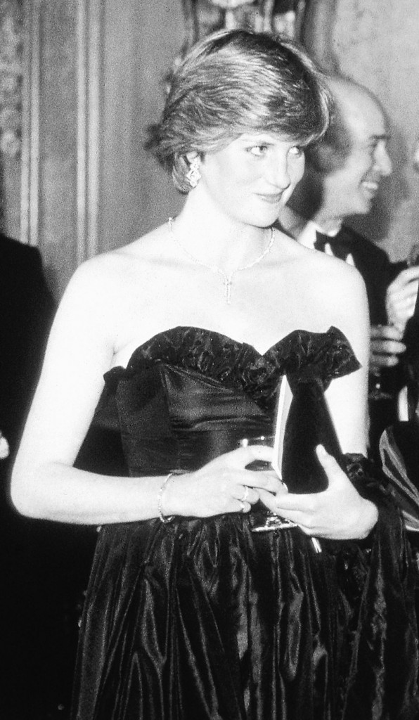 Lady Diana Spencer attends her first official engagement in 1981.