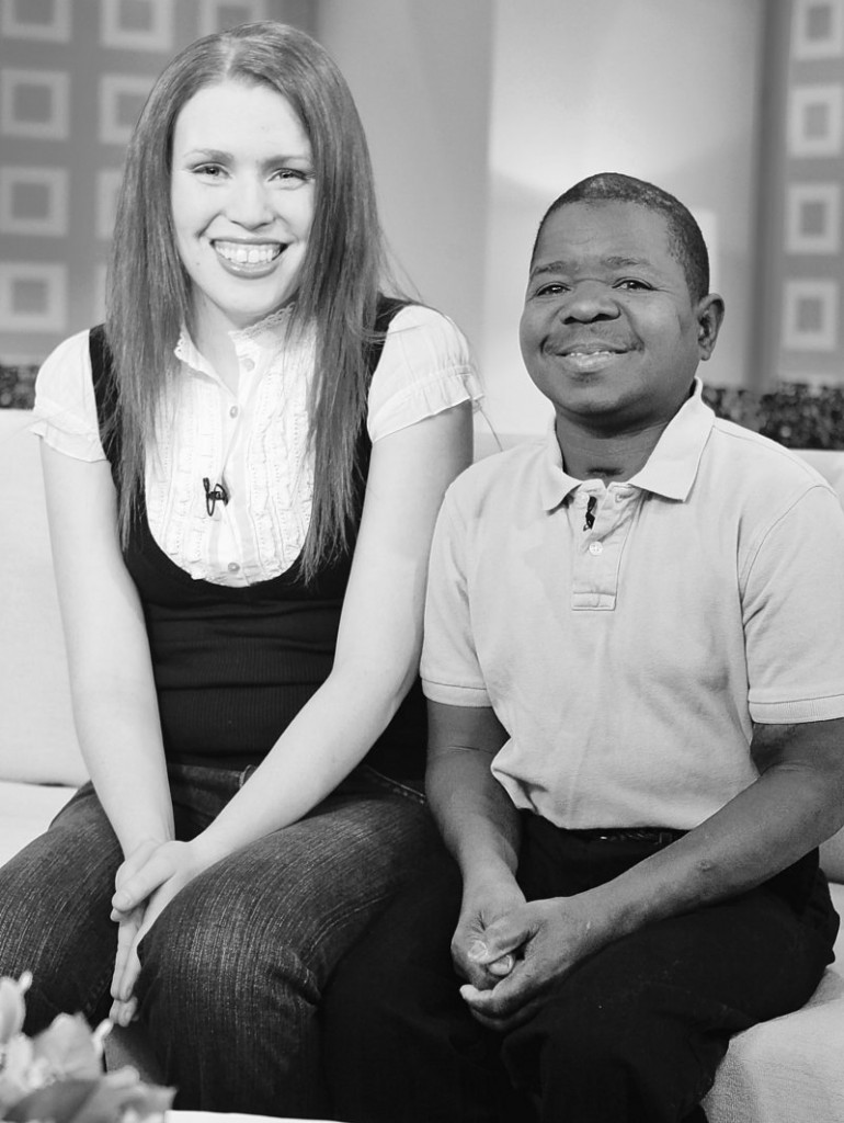 Gary Coleman, with Shannon Price