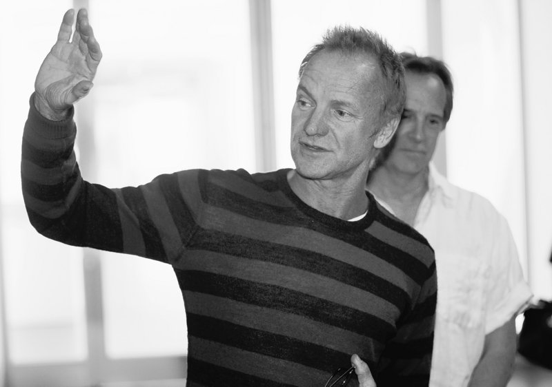 Musician and environmental activist Sting is playing two concerts in Denver's Red Rocks Amphitheater.