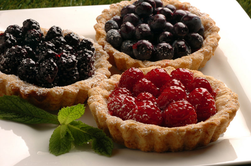 Lindsey's Berry Tarts with raspberries, blackberries and blueberries, are a spectacular dessert that showcases summer's fruity bounty.