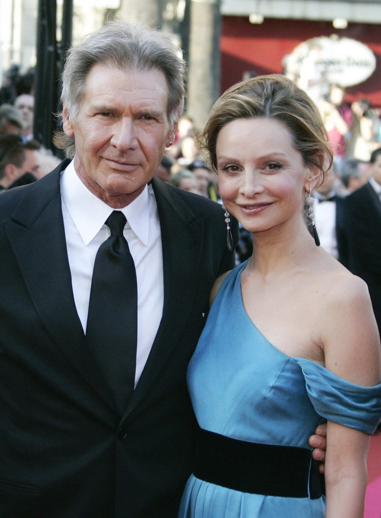 Newlyweds Harrison Ford and Calista Flockhart