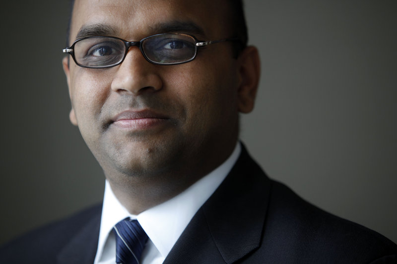 Manan Trivedi, a doctor and Iraq war veteran who won a Democratic primary for Congress in Pennsylvania, says work ethic matters more than a candidate's religion.