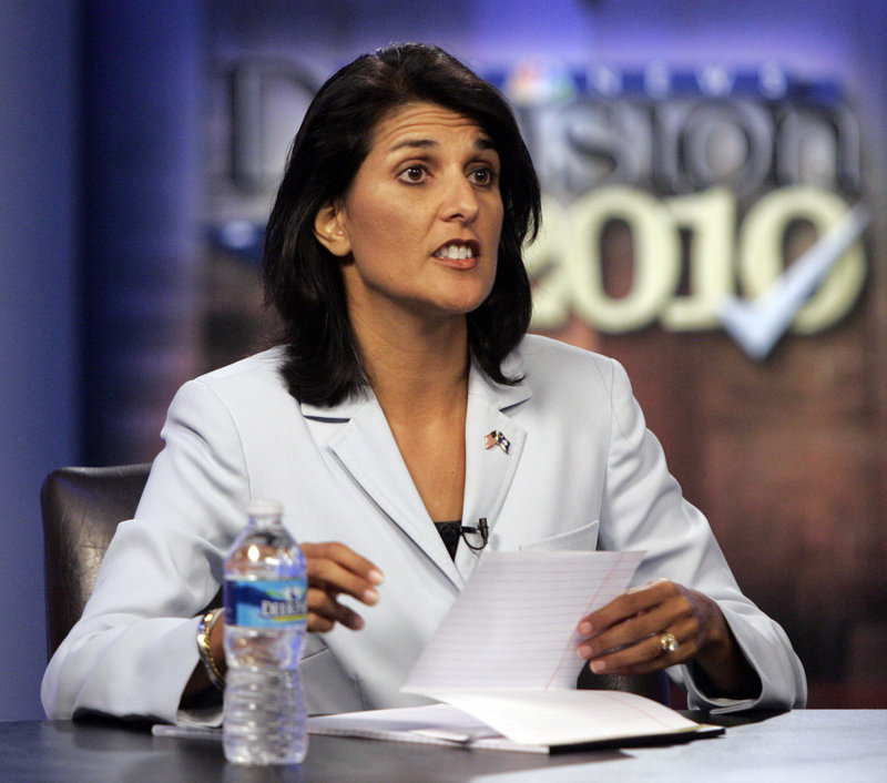 Nikki Haley, born Nimrata Nikki Randhawa, is a Republican who's favored to win the election for governor of South Carolina.