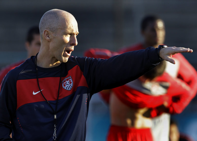 United States Coach Bob Bradley believes his team is ready for a strong showing against Algeria and advancement to the Round of 16 this weekend.
