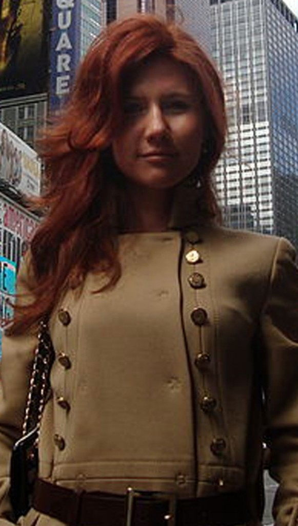 Anna Chapman of New York, pictured on a social networking site, is one of the 11 people arrested in an alleged spy ring.