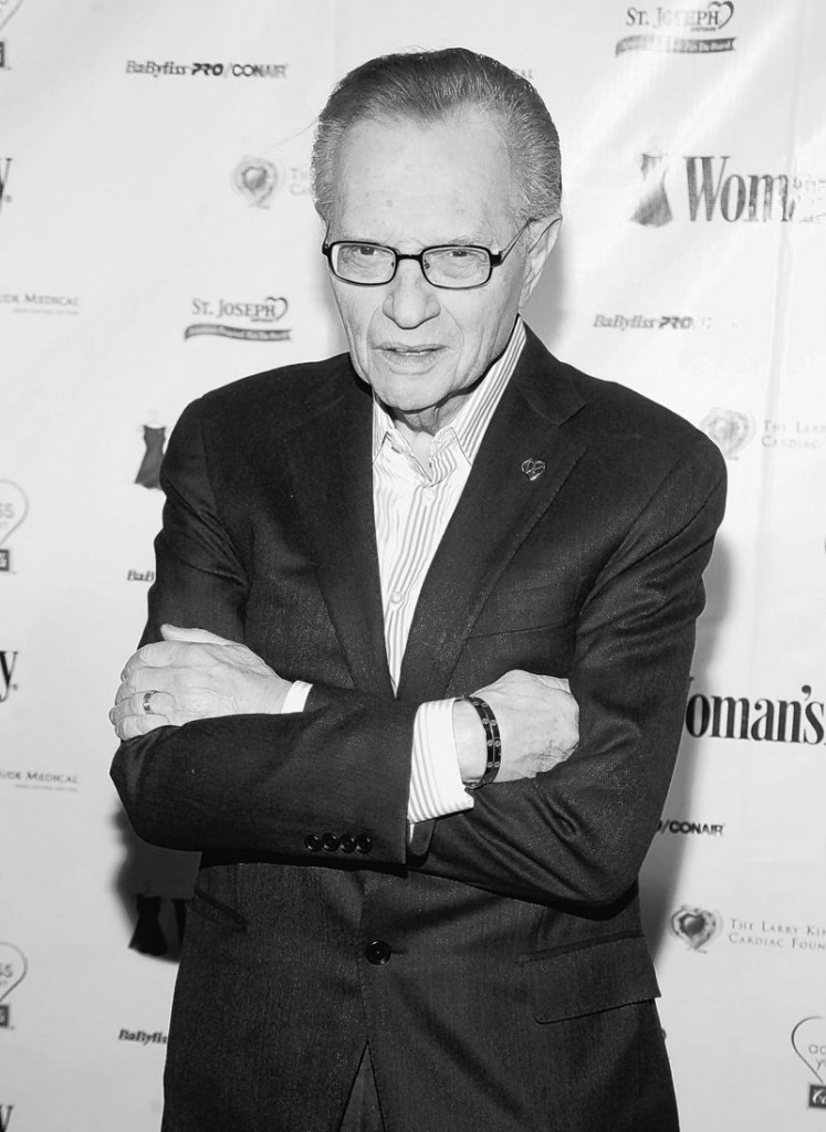 TV personality Larry King holds the Guinness Book record for hosting the longest-running show on the same network in the same time slot.