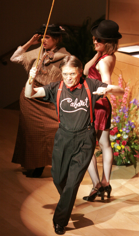 Abbott's big break in theater came in New York in the 1960s when he made the part of the emcee in