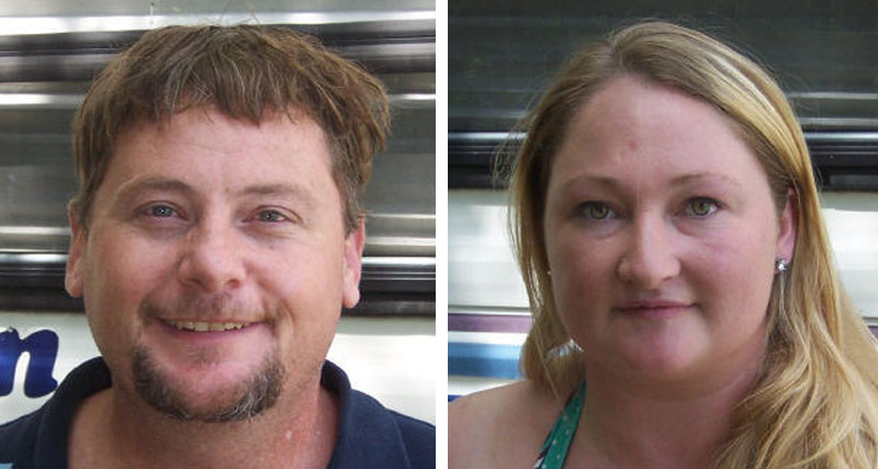 Albert Clyde Huff and Shelley Prescott are charged with filing a false report and unsworn falsification. They also are charged with violating bail conditions from a previous arrest.