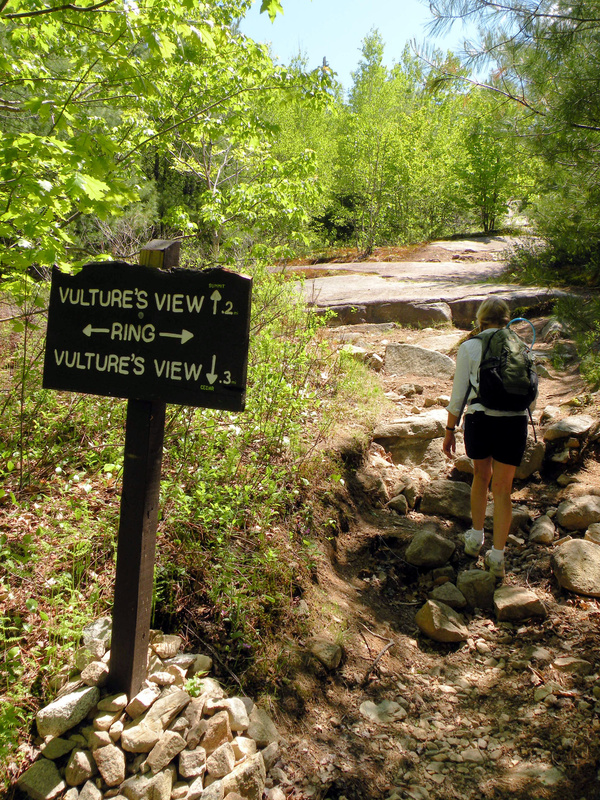 It's called Vulture's View, but in reality it's the path to the 691-foot summit of Mount Agamenticus in York County. It's a hike that is well worth taking.