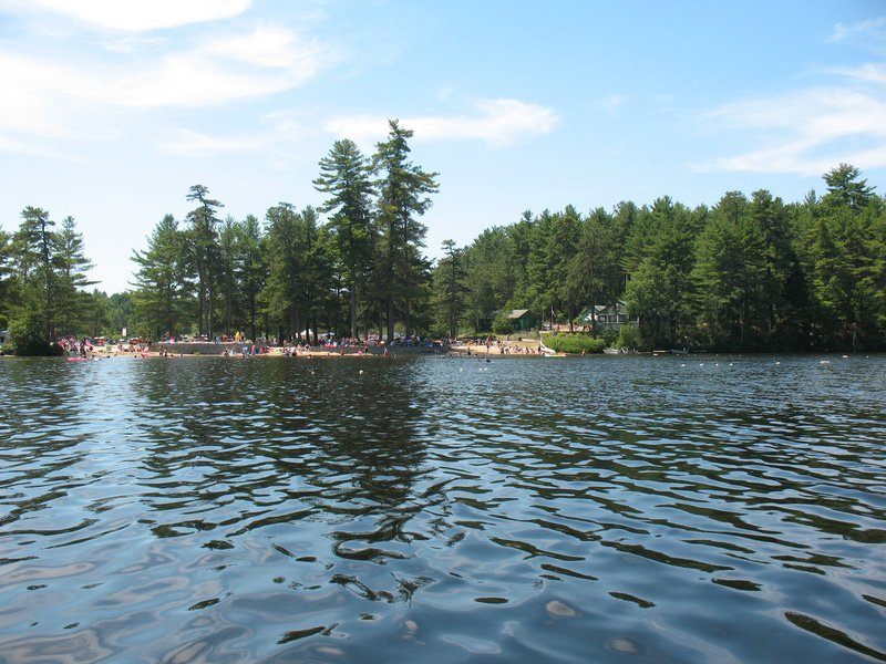 Kiwanis Beach on Watchic Lake in Standish offers picnic tables, grills and bathrooms. The public launch at the beach is only for non-motorized boats.