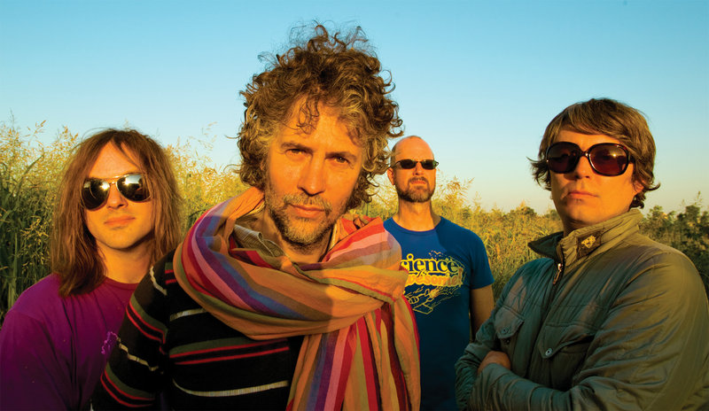 The Flaming Lips perform on Saturday.