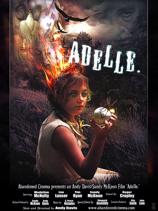 """""""Adelle,"""" a """"trippy art film"""" from Maine director Andy Davis, stars Megan McNulty, who was born in Biddeford."""