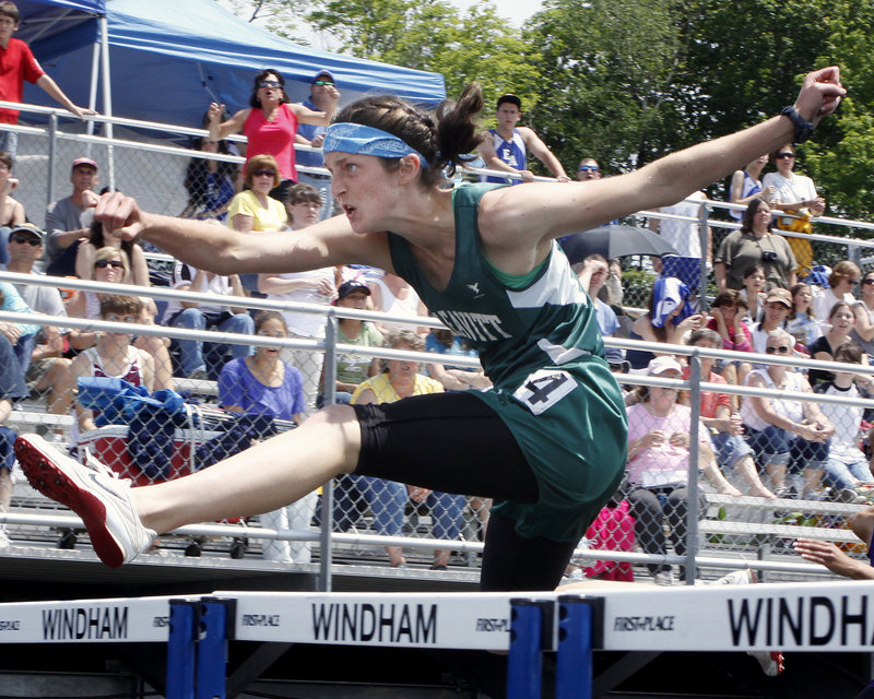 Allison Fereshetian of Leavitt High put extra time and effort into preparing for the outdoor track and field season, resulting in an MVP performance.
