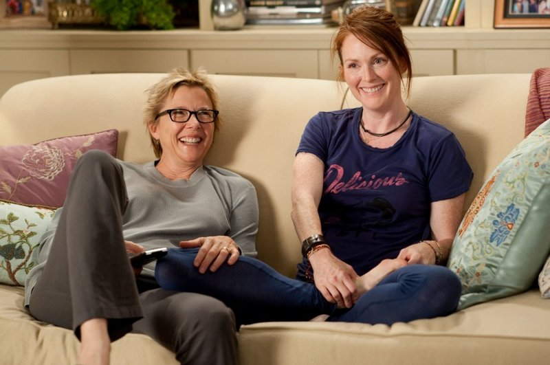 Annette Bening and Julianne Moore in