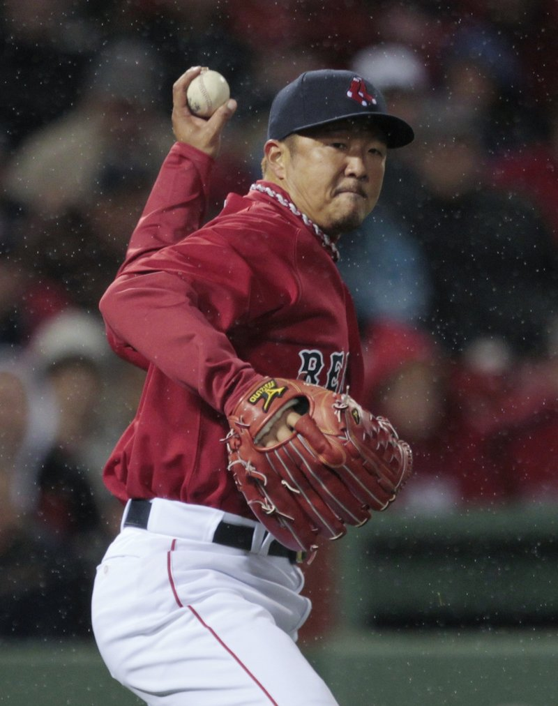 Hideki Okajima has had fine seasons as a left-hander in the bullpen but no, this isn't one of them.