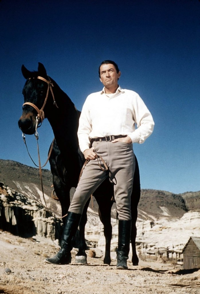 "Gregory Peck in ""Big Country"""