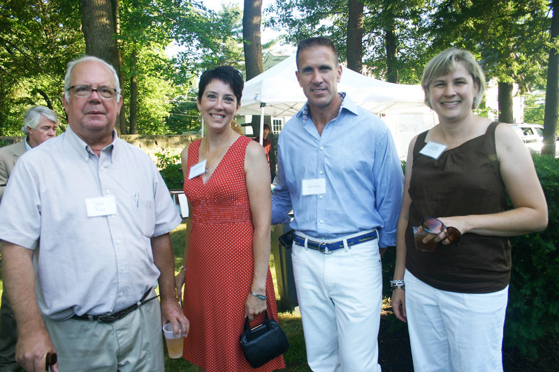 David Reid of Kennebunkport, Trish and Ken Mason of Arundel and Heather McLaughlin of Kennebunk.