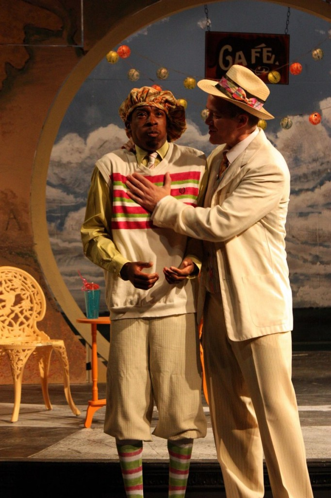 """J.H Smith III and Torsten Hillhouse in """"The Comedy of Errors."""""""