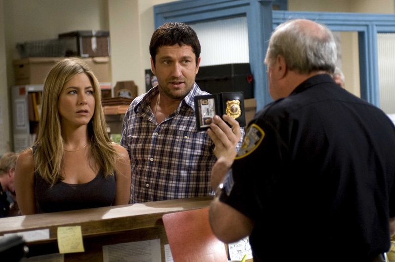 Jennifer Aniston and Gerard Butler star in the action comedy,