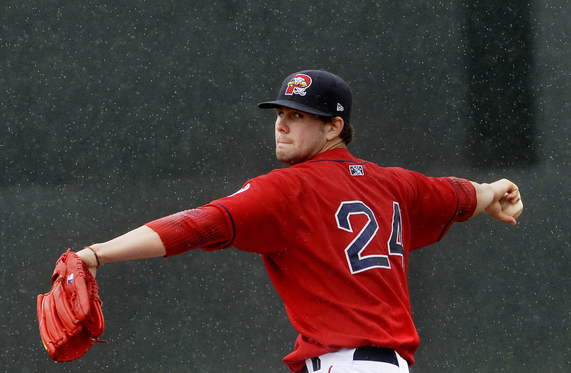 Casey Kelly limited New Britain to two runs in 5 2/3 innings and got plenty of offensive support as the Sea Dogs cruised to a 7-3 victory Sunday at Hadlock Field.
