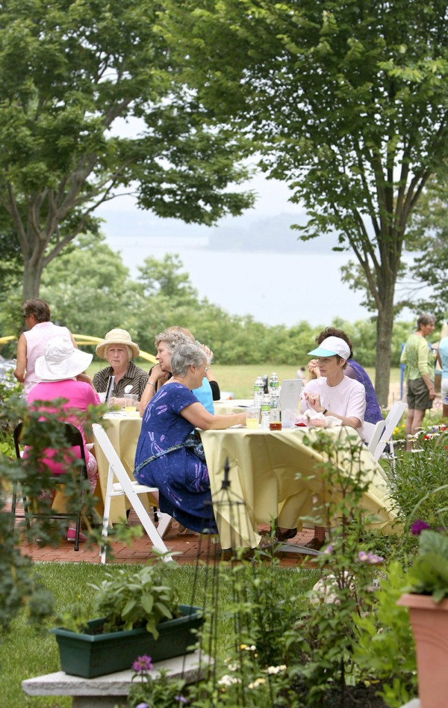 Lobster rolls, fresh crepes and focaccia sandwiches are provided to those visiting the gardens at 129 and 133 Morning St.