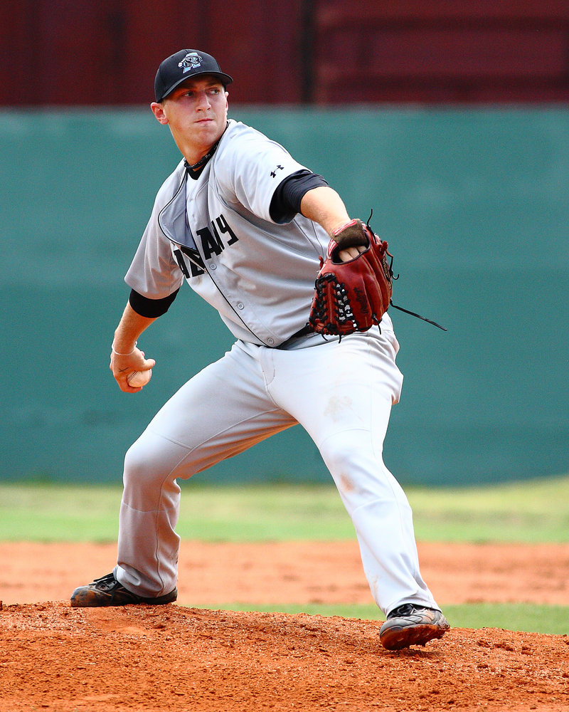 Costa Kapothanasis, a former Cheverus High pitcher, is leaving a Georgia independent team to pitch in the European championships.