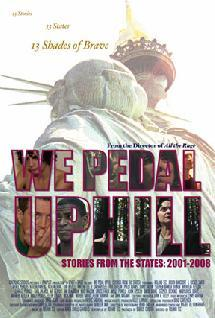 """""""We Pedal Uphill,"""" a series of vignettes about the United States after Sept. 11, 2001, plays at the Portland Museum of Art starting Friday."""