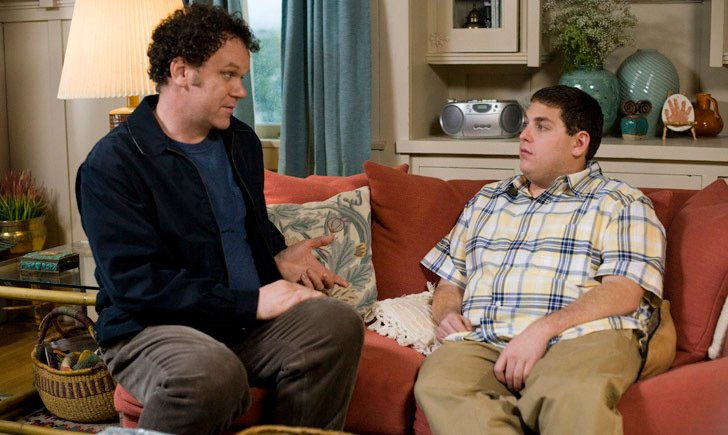 John C. Reilly and Jonah Hill play comical adversaries in the new film,