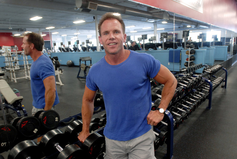 Nutritionist Mike Foley runs Foley's Fitness World at World Gym on Marginal Way in Portland. Foley stresses a consistent regimen of nutrition because irregular food intake makes a body more proficient at storing fat, he says.