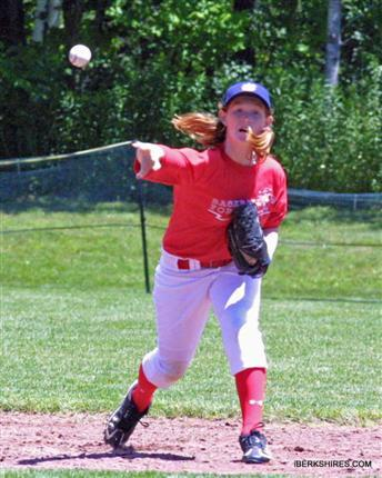 Allie Spinney, 12, of Old Orchard Beach and her team will play against boys starting Aug. 13 in New York.