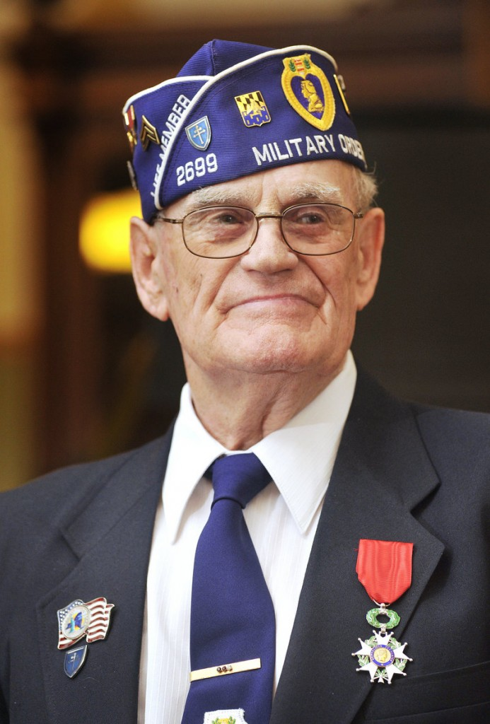 """It's hard for me to believe I'm getting it,"" Sanford veteran Elvert Pooler said of the Legion of Honor medal. ""I guess it's because I spent four months and nine days liberating France."""