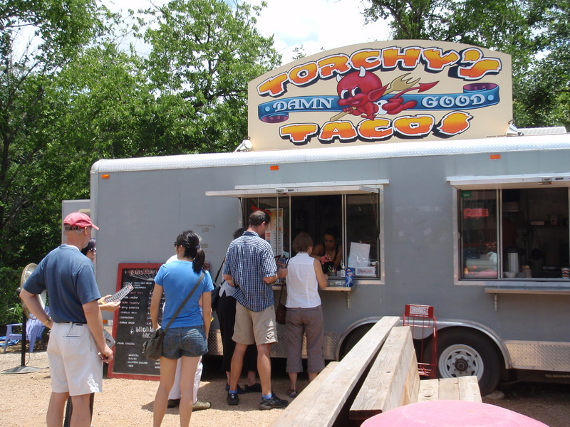 Torchy's Tacos is one of many food operations housed in trailers that have sprung up in Austin in recent years.