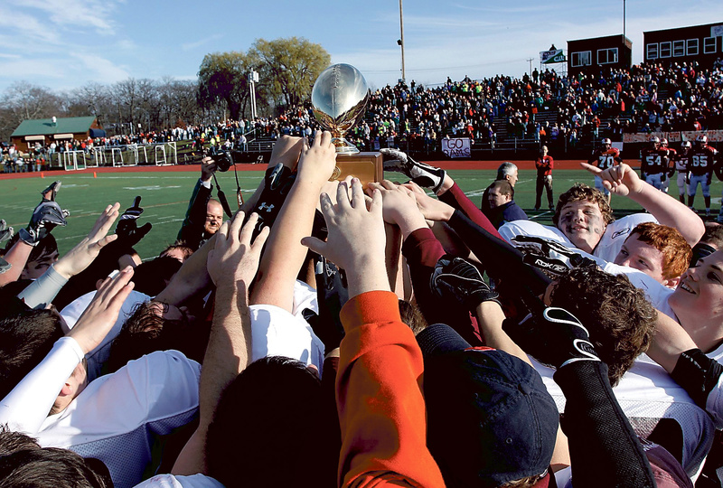 Windham captured its first Class A football state championship last fall, beating Bangor in the state final, but the Eagles must replace several key players, including Fitzpatrick Trophy winner Jack Mallis and quarterback Jackson Taylor.