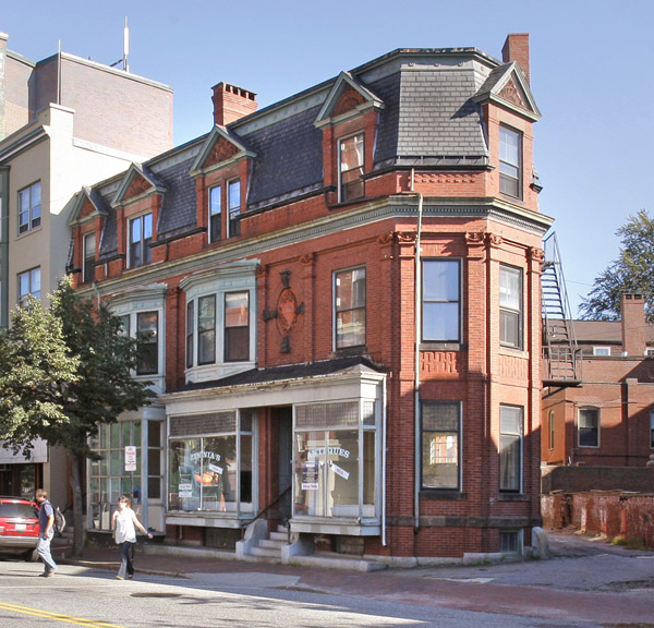 Roxanne Quimby has dropped plans for gallery and studio space in this building at 660 Congress St.