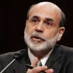 "Federal Reserve Board Chairman Ben Bernanke says the Fed would ""strongly resist deviations from price stability in the downward direction."""