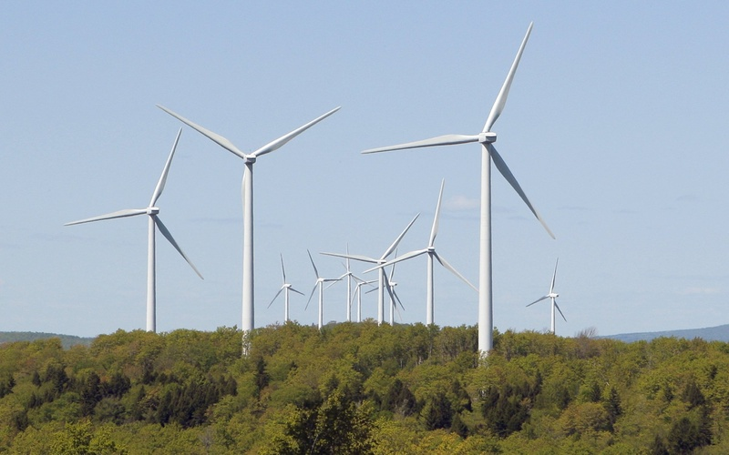 The siting of wind turbines, such as these in Danforth, will be among the challenges facing the Maine Public Utilities Commission, and there is every reason to believe that David Littell would be up to the task as a commissioner.