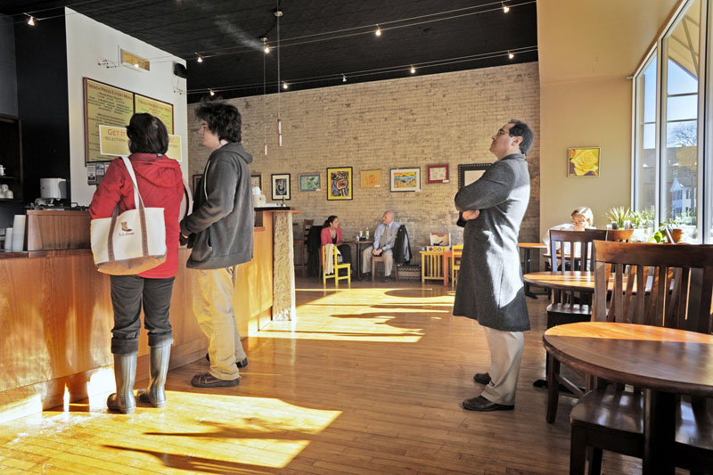 The French Press Eatery on Main Street in Westbrook, in a January 2010 file photo.